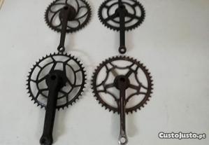 Bicicletas Antigas pedaleiras