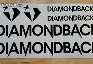 Diamondback autocolantes + oferta nomes