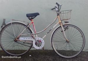 Bicicleta Janette tipo pasteleira