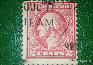 George Washington 2 Cents stamp