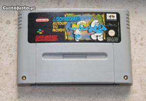 Super Nintendo: The Smurfs/ Les Schtroumpfs Autour du Munde