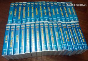 Colecção Disney de cassetes vhs magic english