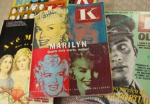 7 revistas capa K - 1991/1992
