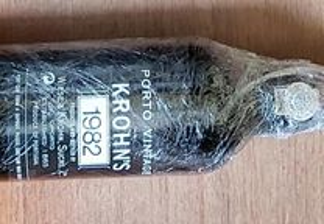 vinho do porto vintage Krohn 1982 nacional