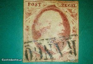 Dutch postage stamp, King William III