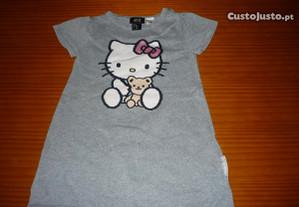 Vestido Hello Kitty 1-2 Anos