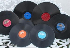6 Discos para grafonolas e gramofones