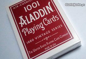 Baralho de Cartas Aladdin 1001 Vintage Red