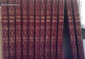 Livros técnicos - Colecção Técnica Básica - 12 vol