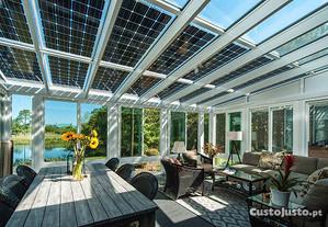 Painel Fotovoltaico JA-Solar 320W Bifacial (M60)