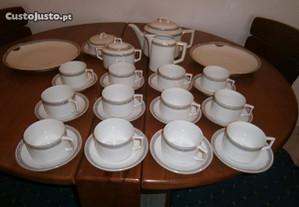 Serviço chá12pessoas,raro,anos30,porcelana Bavaria