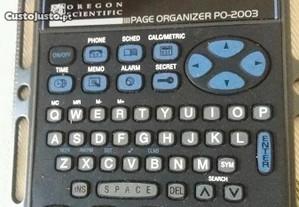 Calculadora oregon cientific po - 2003