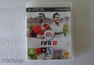 Jogo Playstation 3 - PS3 - FIFA 12