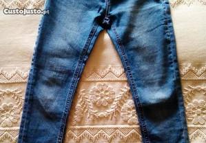 Calças de ganga / jeans 134cm