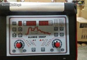 Mig 350 Duplo-Pulse Refrigerada para Alumínio
