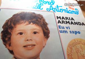 Disco Single Maria Armanda Eu Vi Um Sapo Usado