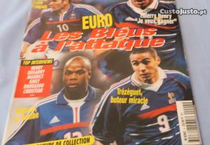 Revista Le Journal du Football Especial Euro 2000