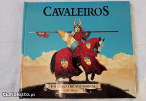 Cavaleiros Medievais Livro Novo 3 D