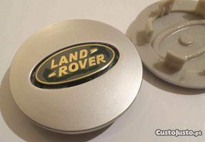 Centros jante land rover 62mm verde dourado