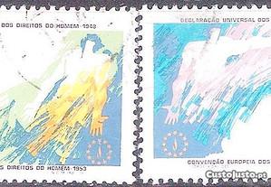 Selos Afinsa 1409 e 1410 Serie Completa