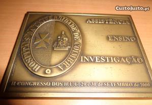 Medalha Hospital Universidade de Coimbra Of.Envio