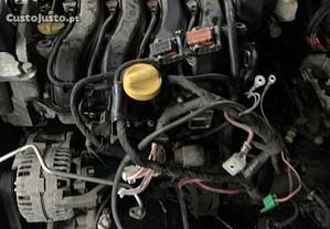 Motor renault clio 2008