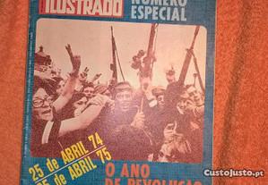 O Século Ilustrado 25 Abril 74 - 25 Abril 75