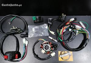 Parte elétrica completa Pit-Bike e ATV 90/110/125