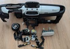 Kit Airbags Fiat 500X Tablier Original Completo