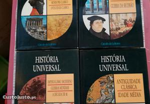 Enciclopédia da História Universal. 4 Volumes