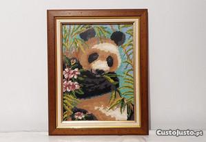 Quadro Meio Ponto do Panda