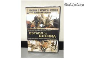 DVD Estado de Guerra PLASTIFICADO Novo kat Bigelou