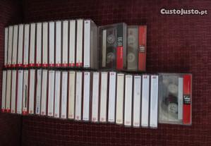 Ideias Geniais - Cassetes áudio p/ aproveitam. ext
