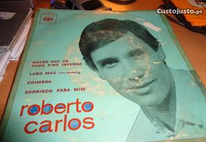 Vinil Single Roberto Carlos Quero Que Vá Tudo Para