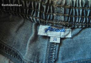 calça de ganga Jacadi 2-3 anos