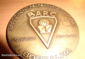 Medalha BARC Borralha Numerada Oferta Envio