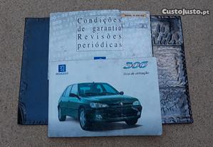 Manual instruções Peugeot 306