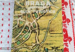 Braga Cidade Monumental Guia Turístico Antigo