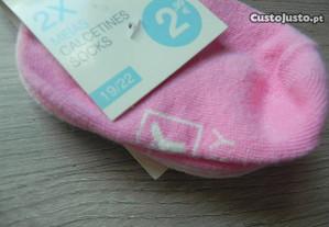 meias de marca novas
