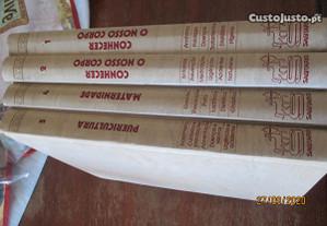 4 volumes da enciclopédia - O livro do casal