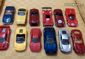 12 Carros Ferrari 1/43