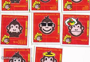 Gorila - papelinhos (várias coleções)