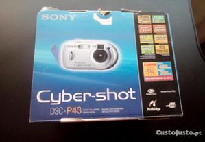 Maquina Fotográfica Sony Cyber-Shot como nova