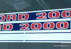Autocolantes para Tractor FORD 2000