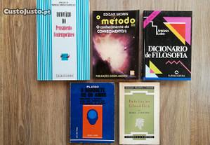 Livros Filosofia (portes grátis)