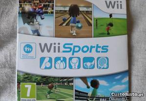 Jogo Nintendo Wii sports com 5 mini jogos