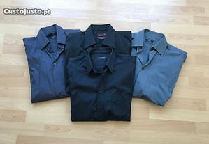 Camisas Zara man novas