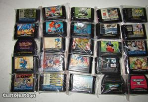 Lote de Cartuchos Sega Mega Drive - Ler Anúncio