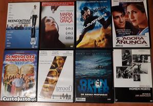 Filmes diversos em DVD
