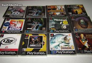 Lote de Jogos Playstation 1 - Ler Anúncio